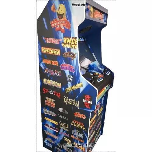 Máquina multijogos retrô 22 polegadas 1300 jogos