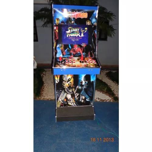 Máquina multijogos sob encomenda adesivada 999 jogos led22