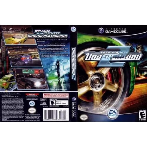Need for speed underground 2 (original) game cube