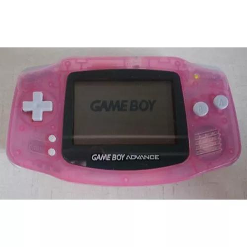 Nintendo game boy advance gba console original + 2 jogos