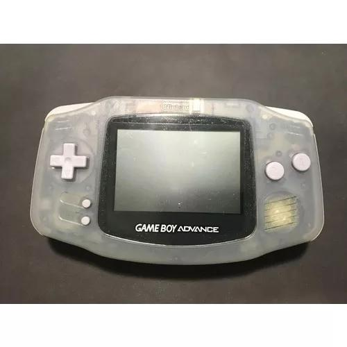 Nintendo game boy advance japonês - cinza translúcido