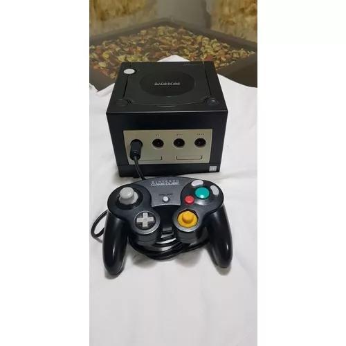 Nintendo game cube preto