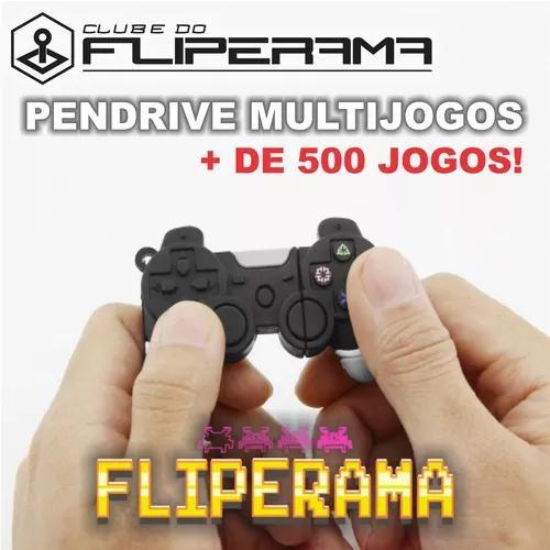 Pendrive Multijogos Fliperama + De 500 Jogos! Ganhe Brindes!