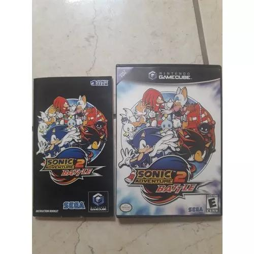 Sonic adventure 2 battle nintendo game cube