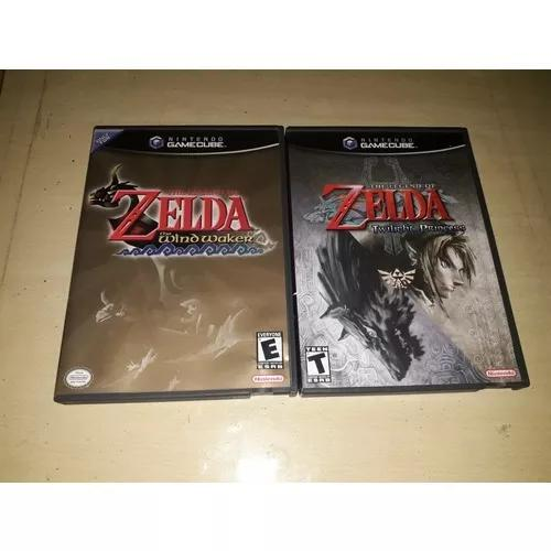 Zelda Twilight Princes & Zelda The Wild Waker