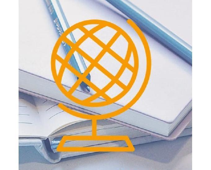 Aulas particulares e cursos de idiomas