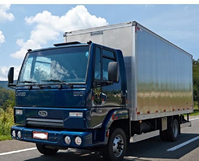 Caminhão ford cargo com mensais a partir de 1.490 sem juros