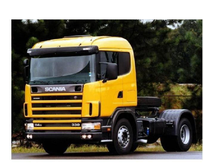 Caminhão scania- entrada a combinar + parcelamento
