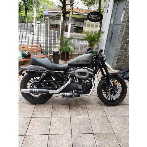 Harley davidson roadster 1200 - quase zero - impecável!