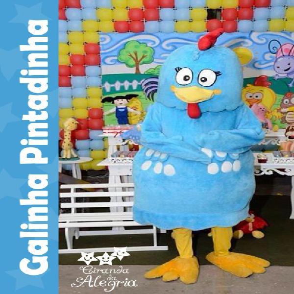 Personagem vivo: galinha pintadinha