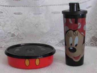 Kit Minnie e Mickey Tupperware