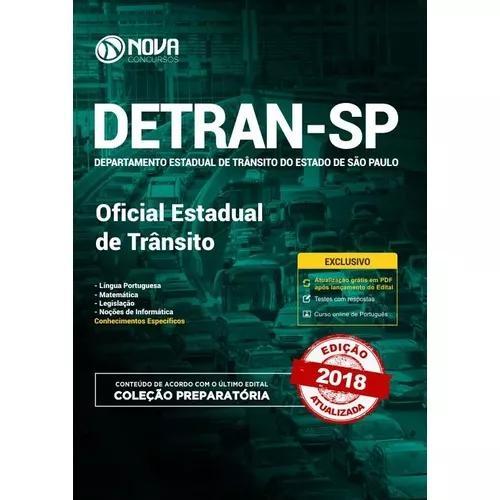 Apostila Detran-sp 2018 -oficial Estadual De Trânsito