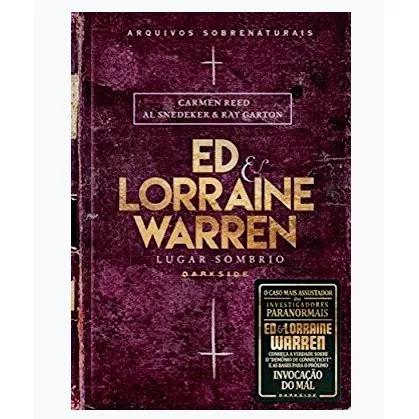 Livro ed & lorraine warren lugar sombrio - lacrado