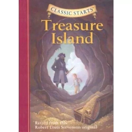 Livro importado ilha do tesouro