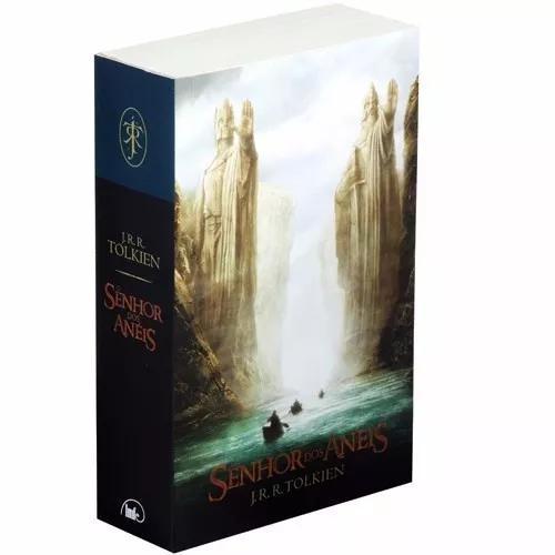 Livro o senhor dos anéis - capa do filme 2 - volume único