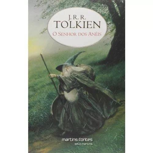 Livro o senhor dos anéis - j. r. r. tolkien