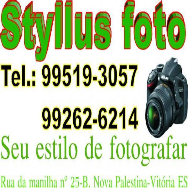 Styllus foto & filmagem