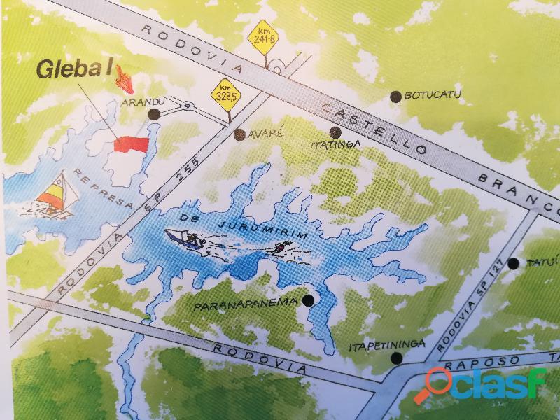 Lote 800m² riviera de santa cristina i