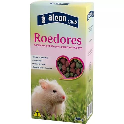 Alcon roedores ração p/ hamster, gerbil, esquilo, rato
