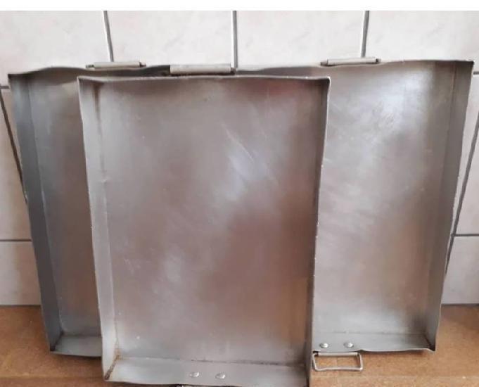 Assadeira retangular alumínio vigor
