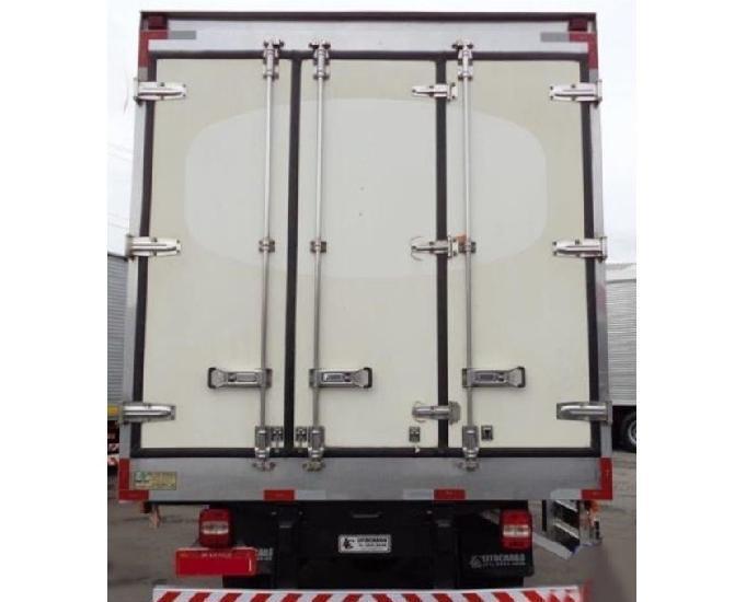 Caminhão vw 9160 baú frigorífico 2014 entrada 12.900