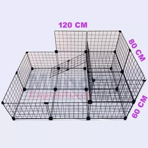 Cercado para porquinho da india 2 andares e chão 120x80