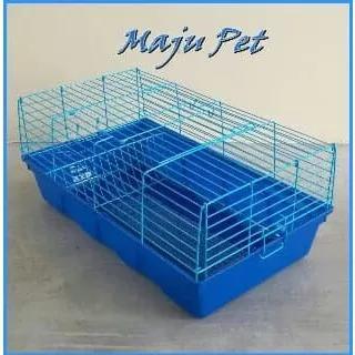 Gaiola para coelho porquinho da índia roedores c/ bandeja