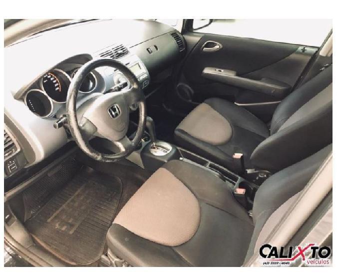 Honda fit 1.5 ex automático 2007 - placa a