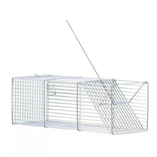 Kit 2 ratoeira gaiola armadilha mini pega ratos - 14d