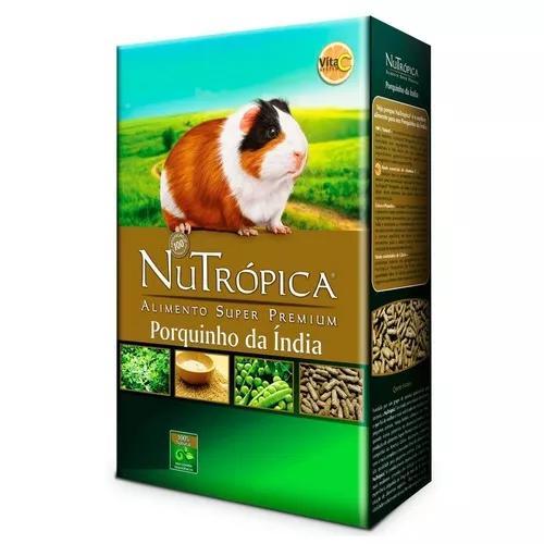Kit alimentação para porquinho da india - nutrópica +