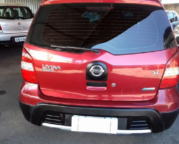 Nissan livina xgear 1,6 flex 2011 completo com bancos em co