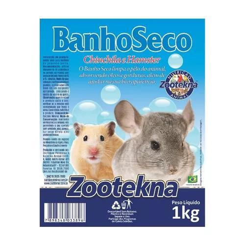 Pó banho a seco zootekna roedores