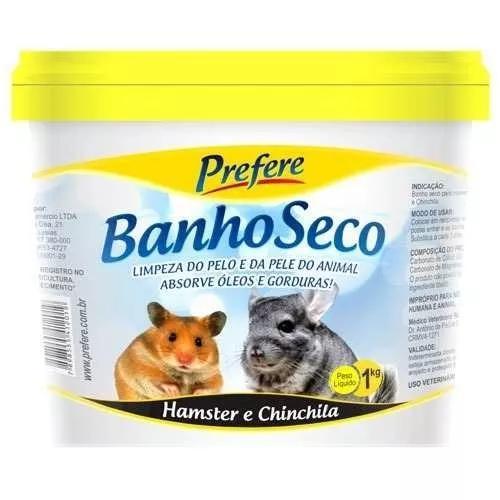 Pó mármore banho seco hamster chinchila ratinho prefere