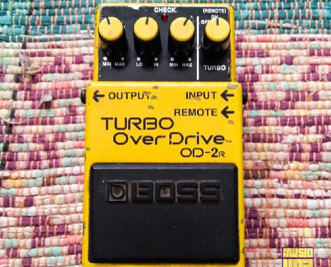 Pedal Overdrive Boss Turbo Overdrive OD-2R