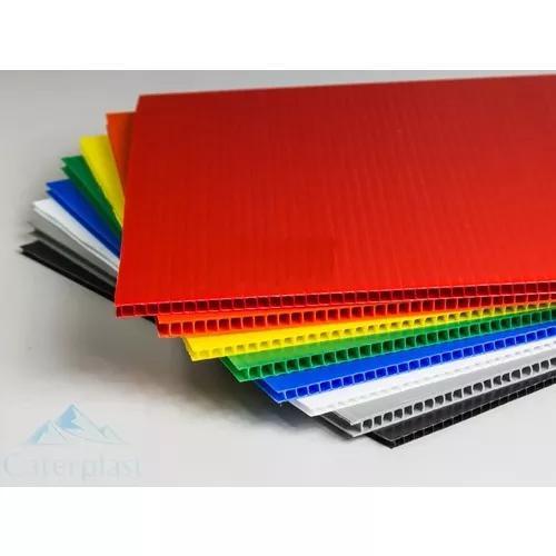 Poliondas diversas cores 3mm pasta escolar - caterplast