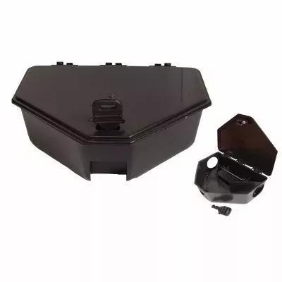 Porta iscas - armadilha para ratos caixa c/ 10 unidades