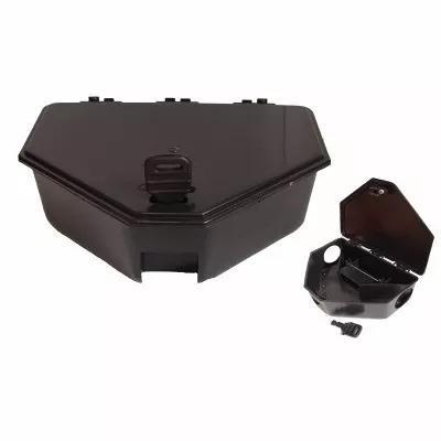 Porta iscas - armadilha para ratos caixa c/ 20 unidades