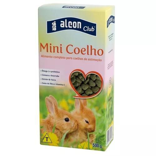 Ração p/ coelhos e mini coelhos alcon club mini coelho