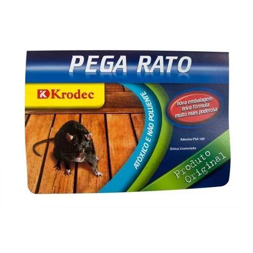 Ratoeira adesiva cola krodec-pega rato mosca barata kitc/10u