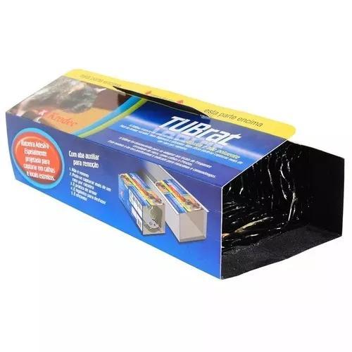 Ratoeira adesiva cola rato krodec tubrat com 5 unidades