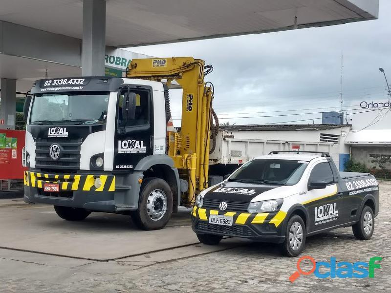 Caminhão munck em Maceió