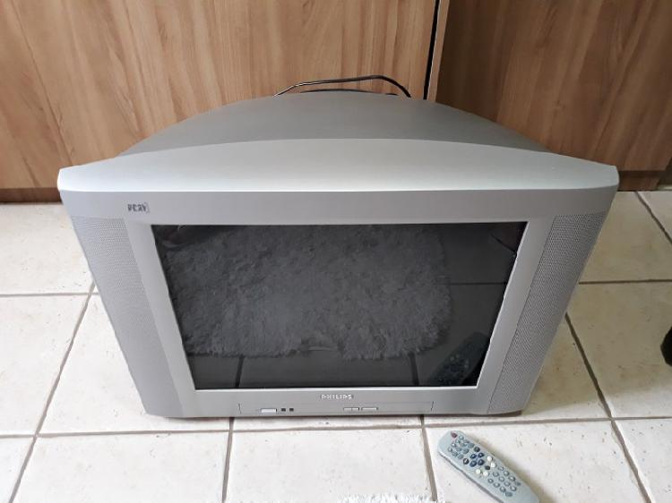 Tv philips 21 polegadas com controle