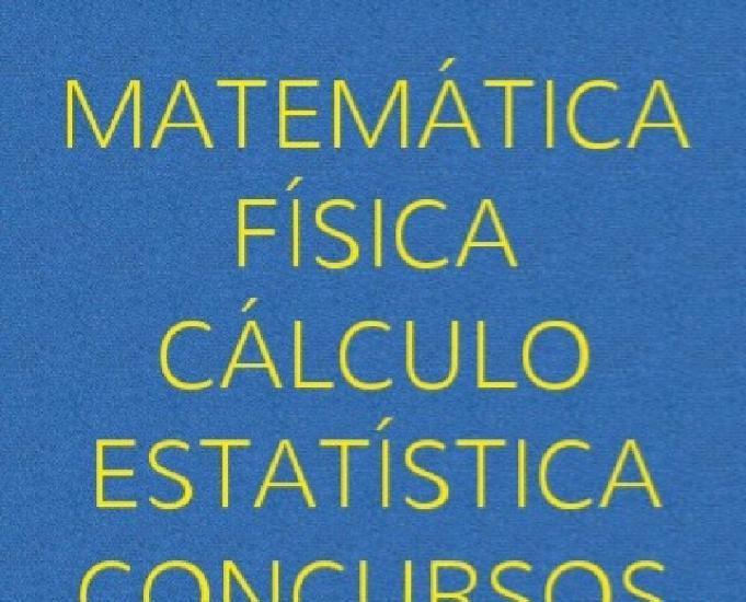 Aulas e listas matemática e física médio e superior