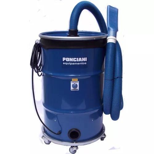 Aspirador de pó profissional 3 motores, 4200 watts ponciani