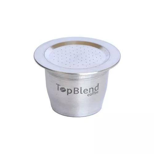 Cápsula reutilizável nespresso vitalícia topblend