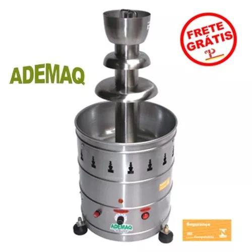 Fonte torre cascata chocolate 4 kg elétri 110/220v ad