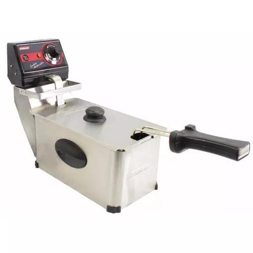 Fritadeira elétrica profissional aço inox 3 litros cotherm