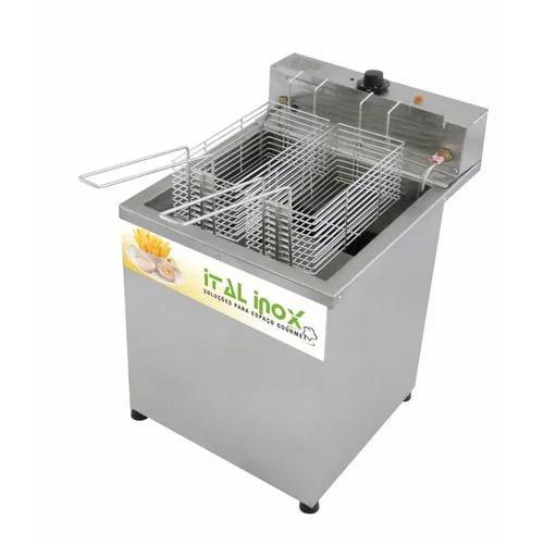 Fritador elétrico água e óleo 18 lts profissional