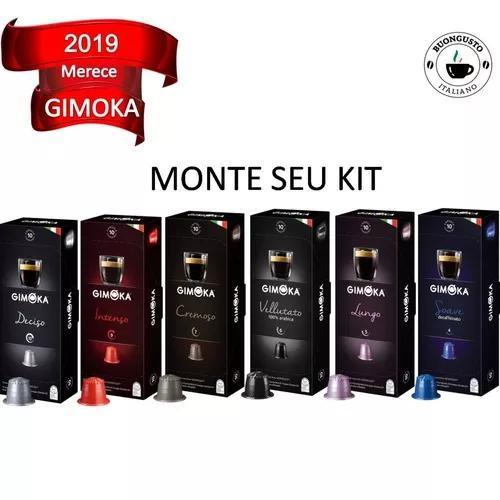 Kit 16 caixinhas café compatíveis nespresso® gimoka