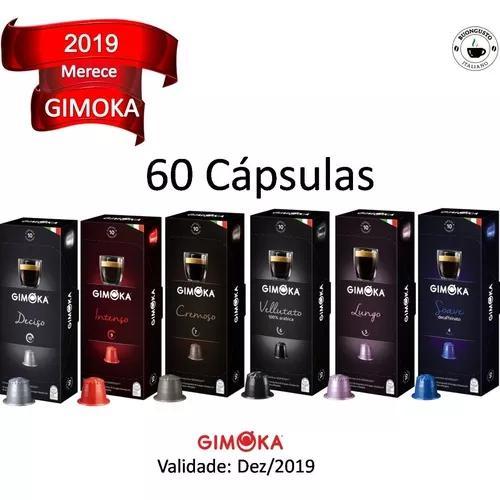 Kit 60 cápsulas café compatíveis nespresso - gimoka
